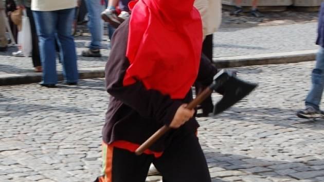 Snímky z kadaňského odpoledního běhu katů.