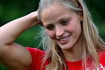 Simona Baumrtová, nejlepší česká plavkyně.