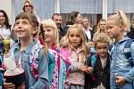 První školní den na ZŠ Ak. Heyrovského v Chomutově