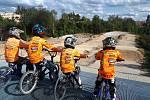 Nová BMX dráha v Chomutově