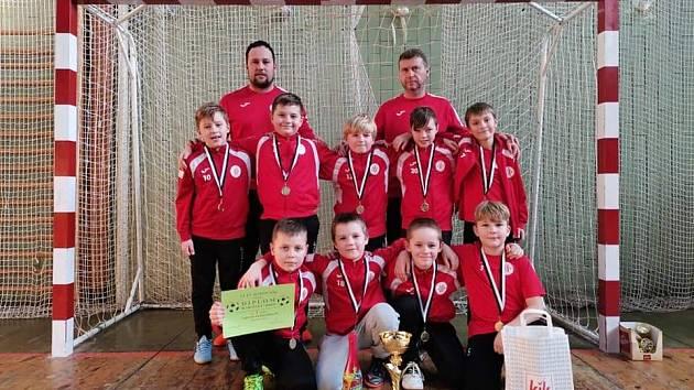 Malí fotbalisté vyhráli turnaj