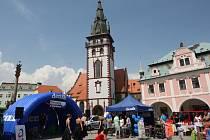 Prima Den s Deníkem na náměstí 1. máje v Chomutově.