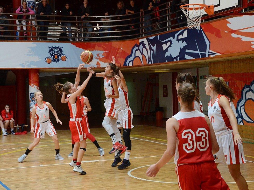 Utkání Chomutova (v bílém) proti Spartě Praha