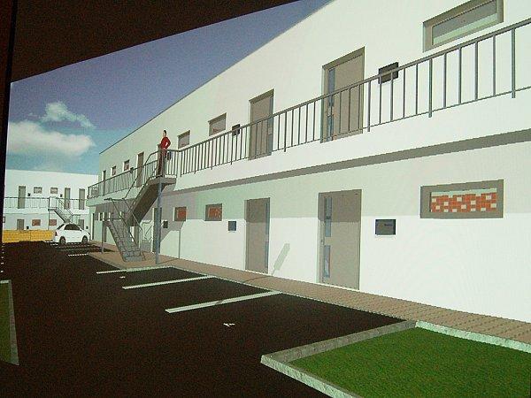 Takhle by měly budovy se startovacími byty vypadat.