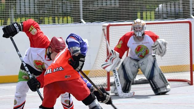 Hokejbalový tým Dandy Chomutov je ve finále play off