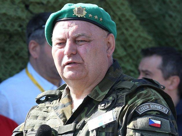 Šéf krajského vojenského velitelství Rostislav Domorák