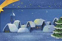 Letošní pohlednici pro Konto Bariéry namalovala Markéta Podhůrská.