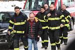 Vejprty se loučily s 8 muži z Kavkazu.