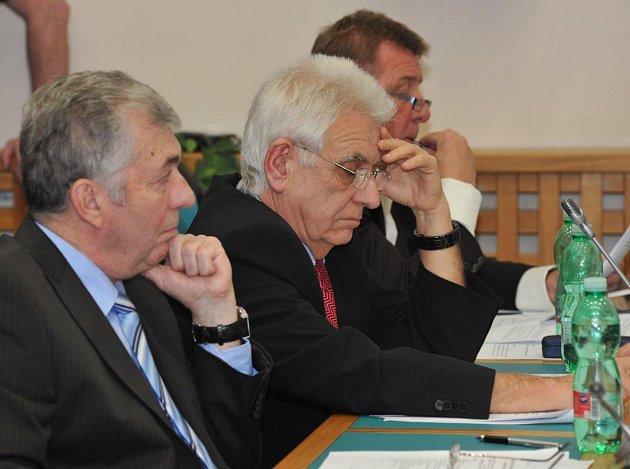 Ustavující zasedání chomutovského zastupitelstva.