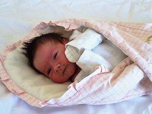 Eliška Šimoňáková se narodila 4. května 2018 v 10.05 hodin rodičům Lucii a Milanu Šimoňákovým z Jirkova. Vážila 3,55 kg a měřila 51 cm.