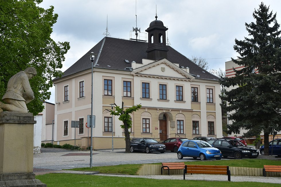 Radnice v Březně.