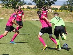 Fotbalisté FC Chomutov se s Baníkem Most utkali už v letní přípravě před sezonou 2015/16