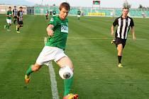 Michal Klimeš v domácím utkání s Admirou Praha