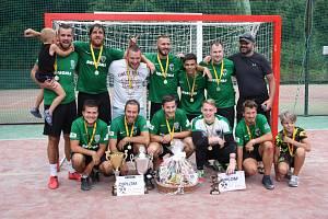 Chomutovský pohár již potřetí ovládli hráči Baníku Chomutov.