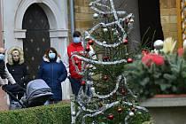 V Atriu v Chomutově je vánoční výzdoba