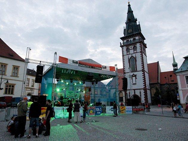 Festival Otevřeno v Chomutově. Archivní snímek
