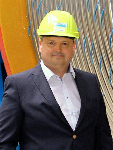 Petr Janoušek, generální ředitel a jednatel Sandviku