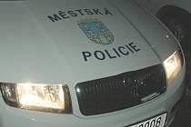 Městská policie Chomutov.