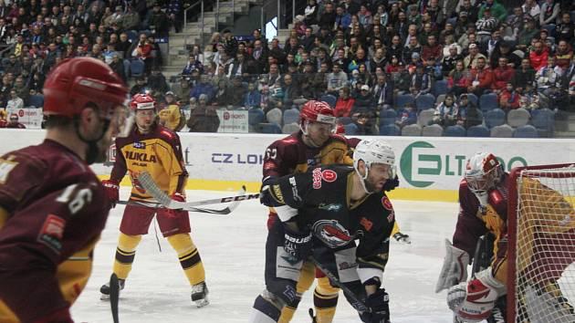 Chomutov - Jihlava 4:1 na zápasy