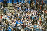 Piráti (v bílém) si doma v derby poradili s Ústím nad Labem.