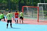 1. liga CHLMF Věznice Všehrdy (zelení) - Arsenal Chomutov