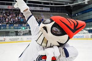 Maskot hokejového klubu Piráti