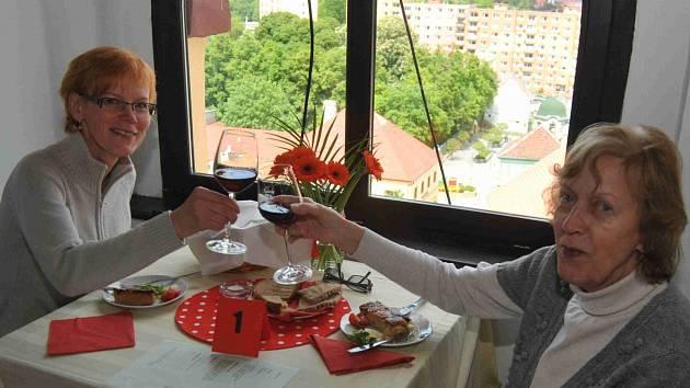 Restaurant day v jirkovské městské věži.