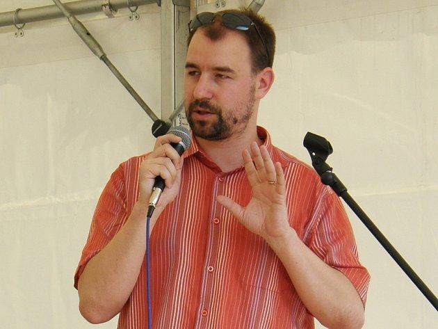 Šéfredaktor Chomutovského deníku Josef Dušek.