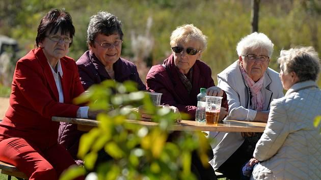 Podzimní setkání v souměstí Vejprt a německého Bärensteinu.