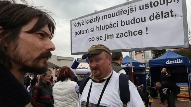 Den s Deníkem v Chomutově.