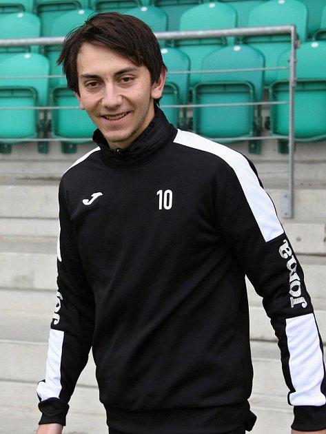 Anid Hajro hraje za Chomutov