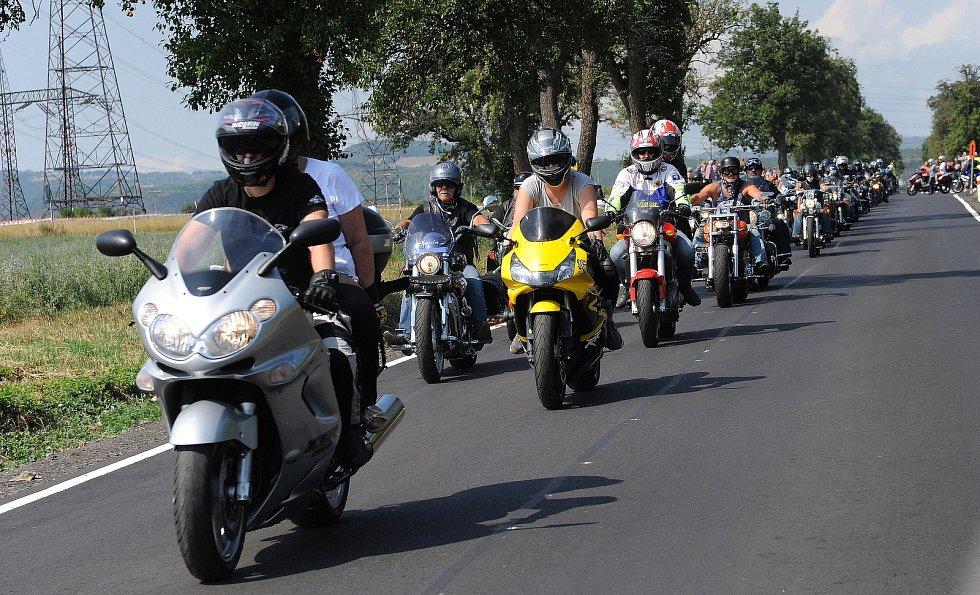 Pouťový festival a motosraz v Polákách v roce 2018