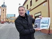 Šéf jirkovské kultury Bedřich Fryč s projekty nového informačního centra