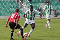 Snímek z utkání FC Chomutov - Kunice.