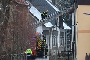 Tragický požár v Vejprtech.