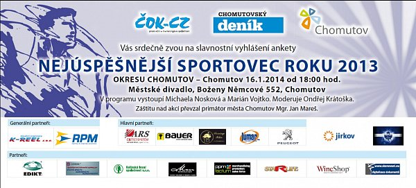 Pozvánka na Sportovce 2104