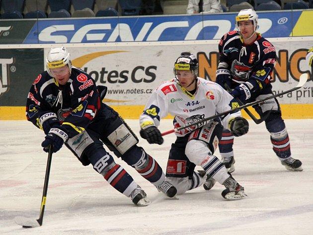 Piráti Chomutov - Bílí Tygři Liberec 0 : 2