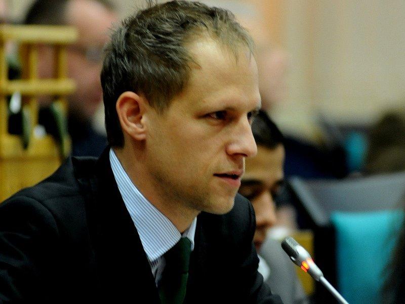 David Palán (Strana zelených).