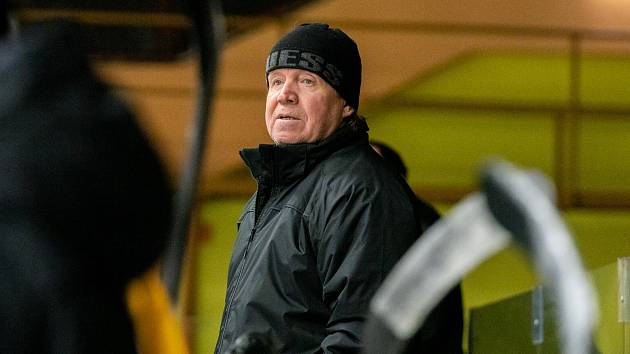 Kadaňský trenér Petr Rosol.