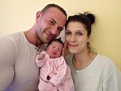Kristýna Kubešová se narodila 21. listopadu 2017 v 9.50 hodin rodičům Evě a Radku Kubešovým z Chomutova. Vážila 2,75 kg a měřila 48 cm.
