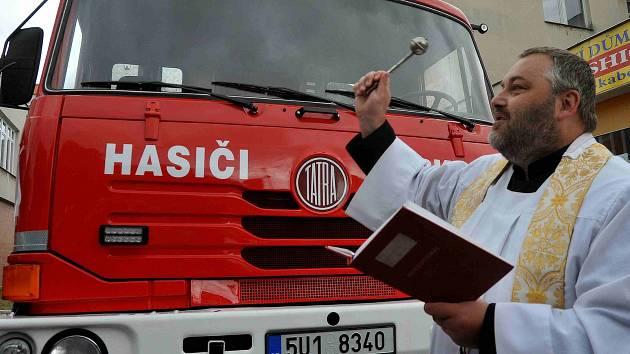 Oslavy jirkovských hasičů.