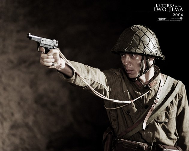 Snímek jednoho z filmů - Dopisy z Iwo Jimy, které jirkovské bude promítat.
