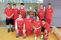 Vítězní Levharti U16 na turnaji v Drážďanech