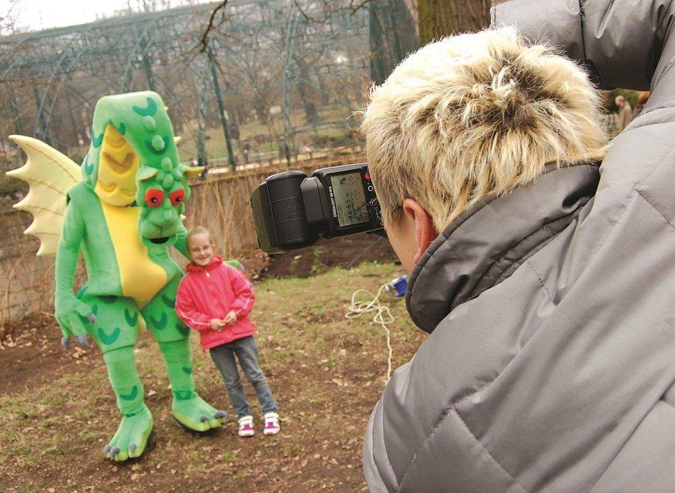 Den Země v chomutovském zooparku.