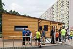 V Klášterci nad Ohří  otevřeli nový cyklopark v ulici Královehradecká.