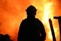 Snímky z požáru