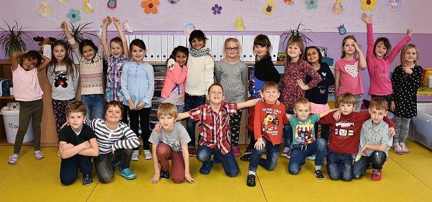Žáci 1.B ze ZŠ Školní vChomutově paní učitelky Markéty Kláskové