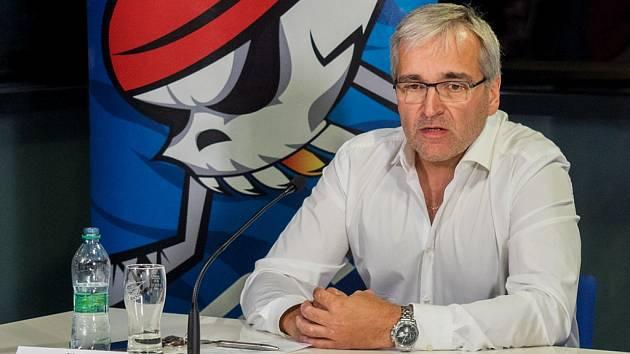 Karel Adamík, generální ředitel Pirátů Chomutov