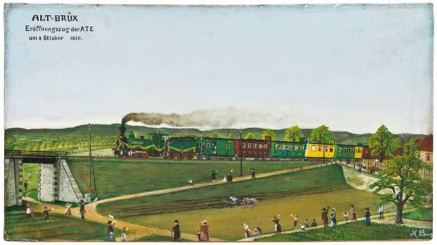 V sobotu, v rámci oslav výročí 150 let železnice v Chomutově, proběhne slavnostní jízda parní lokomotivy s dobovými vagóny mezi železničními stanicemi Most a Chomutov, zároveň bude možné navštívit Železniční depozitář v Chomutově.