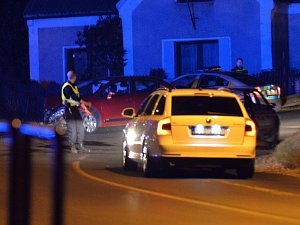 Dopravní nehoda v Otvicích.